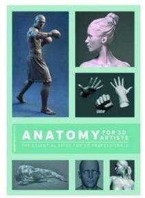 Libro anatomia artistas 3D